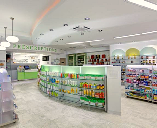inside SOS Pharmacy
