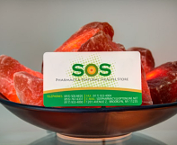 SOS Pharmacy membership card